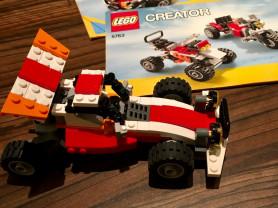 Lego creator 3 в 1 внедорожник