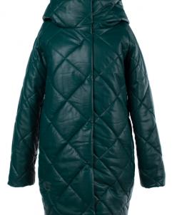 05-1505 Куртка зимняя (Синтепон 300) Эко-кожа Зеленый