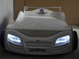 Продаю кровать машину новую R800  белая с матрасом