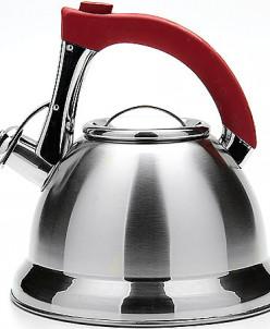 21422 Чайник 3,7л мет,сил/руч со свистком МВ (х12)