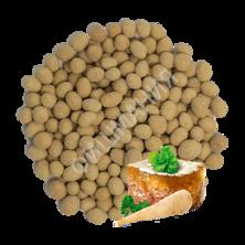 Арахис жареный в глазури со вкусом холодца с хреном.