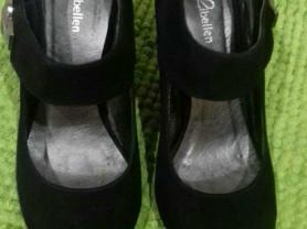 Туфли нат. кожа и замша.