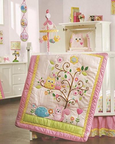 Lambs & Ivy Happi Tree by Dena 12-Piece Nursery Crib Bedding