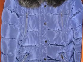 пуховик зимний с капюшоном 44-46 м