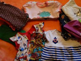 20 вещей-700р!!! Одежда д/девочки, р.74-80-86.