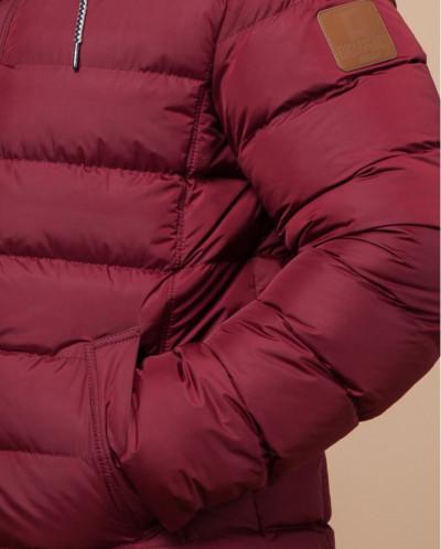 Куртка бордовая фирменная модель 32315