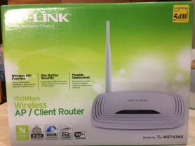 Wi-Fi роутер новый