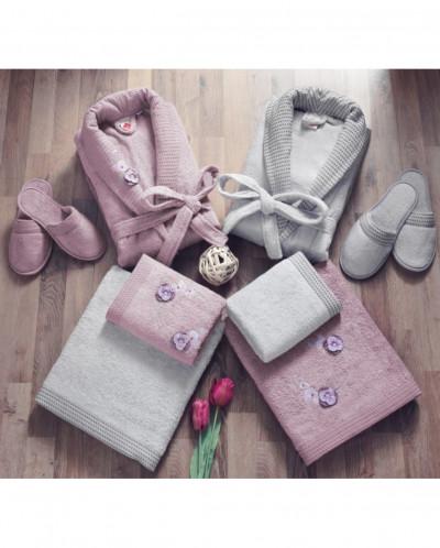 Семейный Набор халатов c 3D эффектом Bamboo - Cotton box