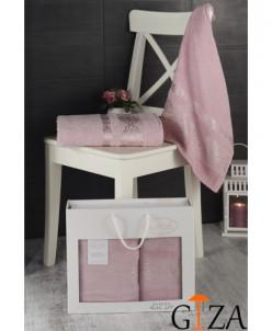 """Комплект полотенце махровое """"KARNA"""" ITEKA 50x90 см 1/2"""