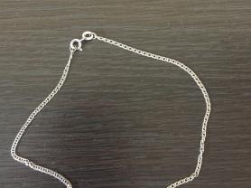новые браслеты на ногу серебро 925
