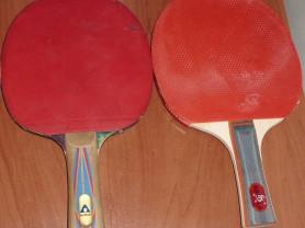 Ракетки для настольного тенниса б/у - 3 шт