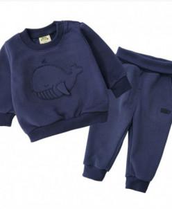 """Костюм Minizone """"Whale"""" синий"""