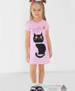 Платье детское Клавдия (кулирка)