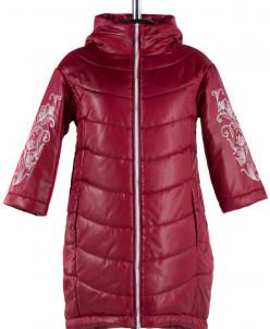 04-0823 Куртка демисезонная (синтепон 180) Плащевка Бордо