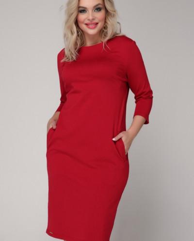 Платье 011/2 малиновый