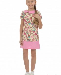 Платье детское Карамель (кулирка)