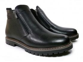 Зимние ботинки на двух молниях