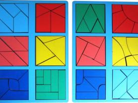 квадрат Никитина 3 уровень (мини)