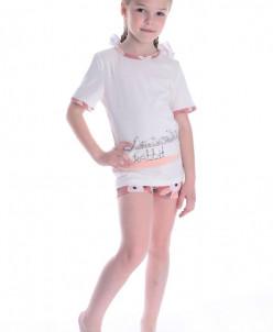 Пижама детская ML-Кроля (кулирка) (шорты)