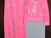 Juicy Couture новый велюровый костюм 12л. оригинал