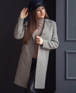 Пальто 20700 (серый)