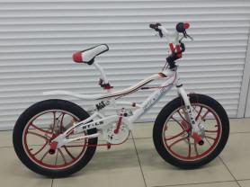 велосипед BMX подростковый с дисковыми тормозами