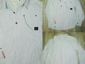 Рубашка детская р. 122 - 128, бу стильная, подойдё