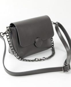 Женская кожаная сумка G-1158 Серый