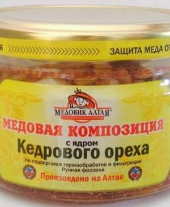 Мёд с ядром Кедрового ореха