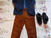 Стильный костюм с спортивным пиджаком для мальчика