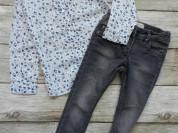 рубашка и джинсы 110
