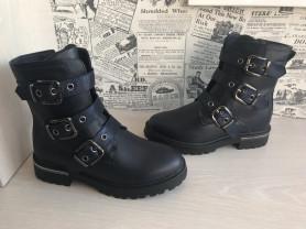 Новые демисезонные ботинки для девочек
