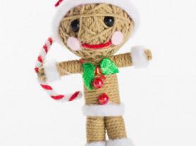 Джинджермэн - кукла, талисман, ручная работа