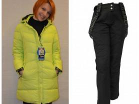 Новый зимний теплый костюм (куртка штаны) 42