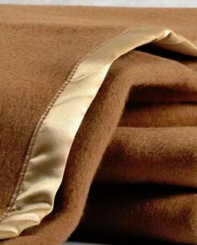 Плед валяный из шерсти верблюда 100% (150*200)
