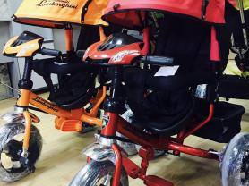 трёх колесный велосипед Lambordhini L2 NYW 2017