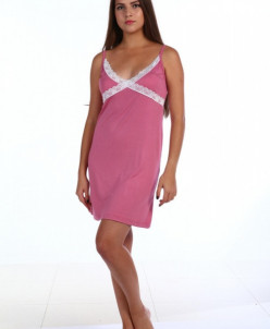 Сорочка Малена Лайт, М-18Н Темно-розовый