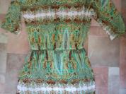 Платье туника zolla p.xs(42) лёгкое
