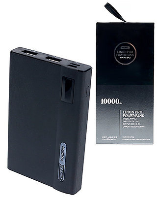 PowerBank 10000 mAh черный
