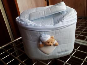 Новая сумка для аксессуаров Nanan голубая