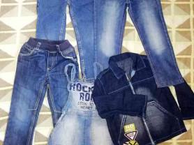 Пакет одежды для мальчика новое и бу р. 110-116