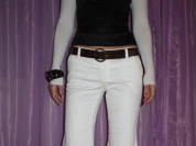 Рукава болеро новые Morgan размер S/M 44 46 белые вискозы вязаные мягкие цвет слоновая кость молоко Одежда бренд кофта блуза блузка