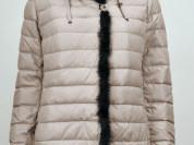 Куртка новая с кроликом и норкой, 54 р-р