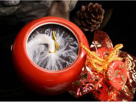 Премиальный чай Уишань в  керамическом сосуде