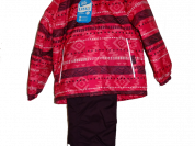 Куртка и брюки Lassie by Reima Красный зигзаг