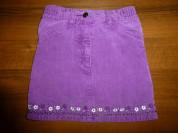 юбка вельветовая (хлопок) длина мини
