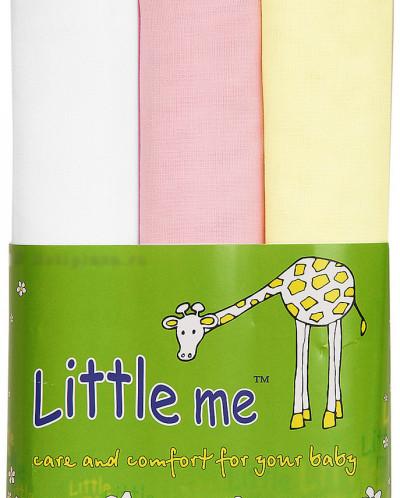 Пеленки тонкие Little Me 3 шт.