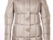 Пальто новое, серебристое, 52-54 р-р