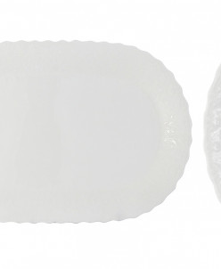 Блюдо овальное Шелк