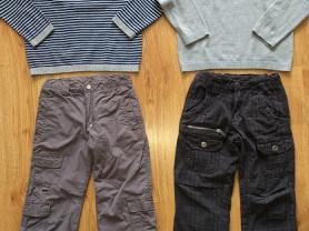 Пуловеры Mothercare, штаны Zara и Liegelind р.122